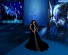 Winter Black Gown