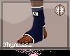 Blue MMA Socks