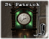 ! St Paddy Wall Clock