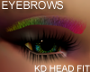 Rainbow Eyebrows