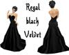 Regal Black Velvet