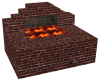 Brick Smithy Forge Fire