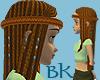 Cleopatra Braid Hair Red
