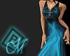 ~M~ Antigua Blue Gown