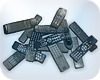 Pile Of TV Remotes