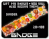 Autumn Divider Badge