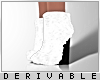 0 | Fur Wedge Boots