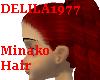 Minako Hair-Dark Red
