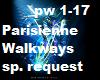 Parisienne Walkways