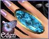 EDEN Dainty TopazG Ring