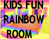 KIDS rainbow playroom
