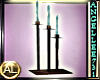TALL CANDLES SET