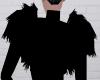 Vampiric Black Shawl