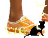 Tig~Orange Dream Vans