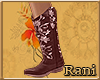 Country Boots Rose