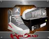 Cool Grey Jordans 6 (F)