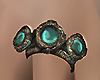 Turquoise Gold Ring (L)