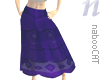 Roma Aubergine Skirt