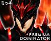 ! Crimson Dominator Helm