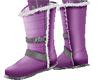 Purple Winter Casual