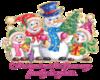 Snowman Family Sticker
