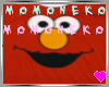 M ATM Emo Girly Elmo Red