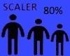 Scaler 80%