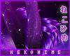 [HIME] Galaxy Leg Fur