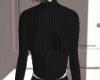 black tight sweater
