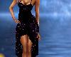 *K*Blk/Purple Party Dres