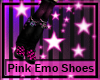 Pink Emo Shoes