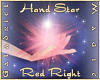 Hand Star (Red Right)