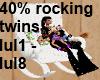 Twins rocker w/song