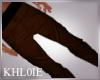 K brown pants