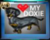 I LUV MY DOXIE STICKER
