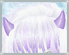 [M/F] Lilac Bat Horns