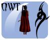 QWT Underworld Cape Red