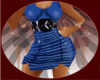 ~*S*~ Blue Ruched Mini
