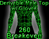 Derivable Top w/ Gloves