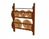Tuscan plate rack