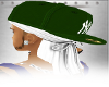 [CJ]AR GREEN Hat+Du rag2