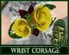Wrist Corsage Yellow
