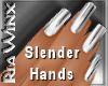 Wx:Shiny Chrome Nails