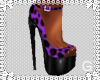 *G* Leopard Purple Heels