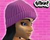 602 Pink Skully Bk Hair