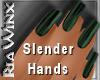 Wx:Slender Hunter Green
