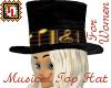Musical Top Hat women