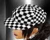 ~(R) BW Checkered Cap