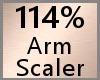 Arm Scaler 114% F A