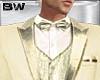 Gold Wedding Tux Suit